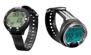Affordable-Scuba-Diving-Watches-Computer-,-Suunto-Zoop-Novo-VS-Cressi-Leonardo