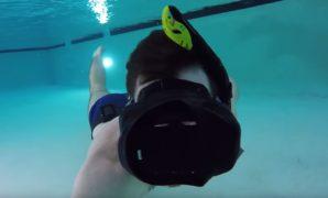 Prescription Diving Mask for Scuba Diving Simulator