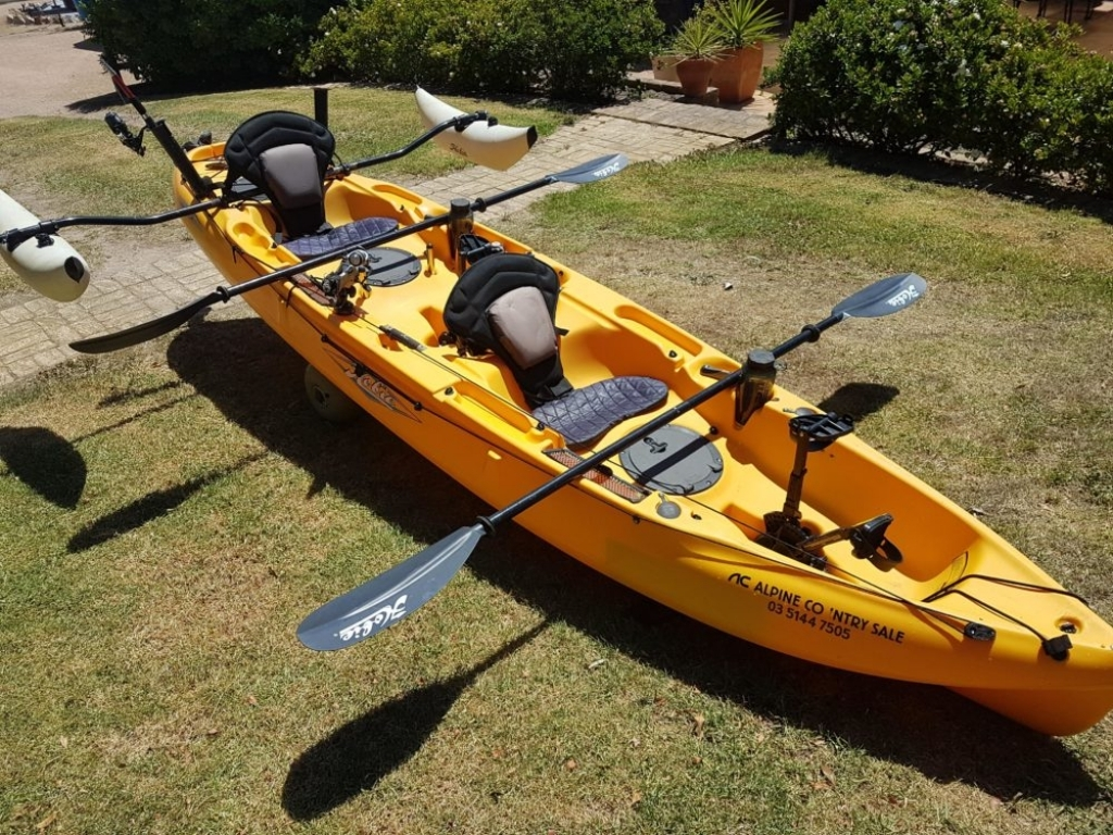 2 Seater Kayak - Splash Dive